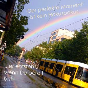 perfekte moment